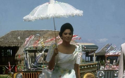 Three-thousand shoes and a $7 million shopping spree: the crazy rich life of Imelda Marcos