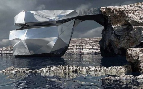 Malta's collapsed Azure Window could be rebuilt as a flashy museum