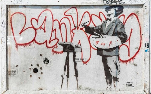 Would a Banksy make you buy a home? Graffiti is the latest must-have for developers