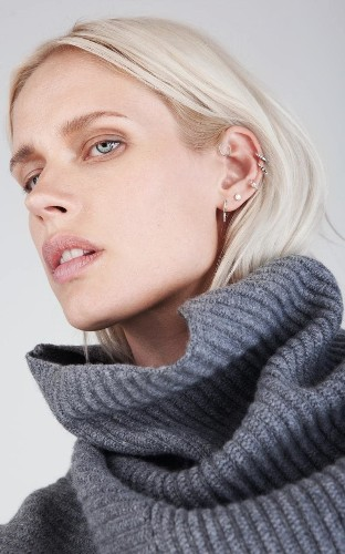 Why we're all falling for multiple ear-piercings