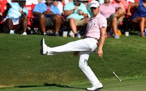 Xander Schauffele 'beats' Justin Thomas by six shots but only earns a share of the lead at the FedEx Cup