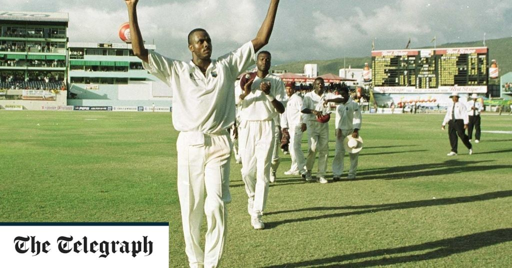 Courtney Walsh appointed West Indies women's cricket team head coach
