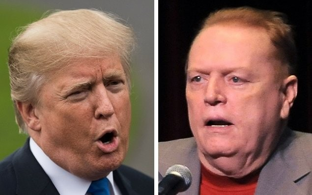Porn publisher Larry Flynt offers $10 million for dirt to impeach Donald Trump