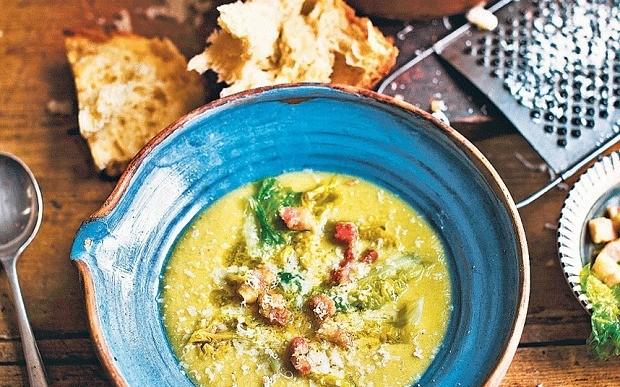 Italian split pea soup recipe