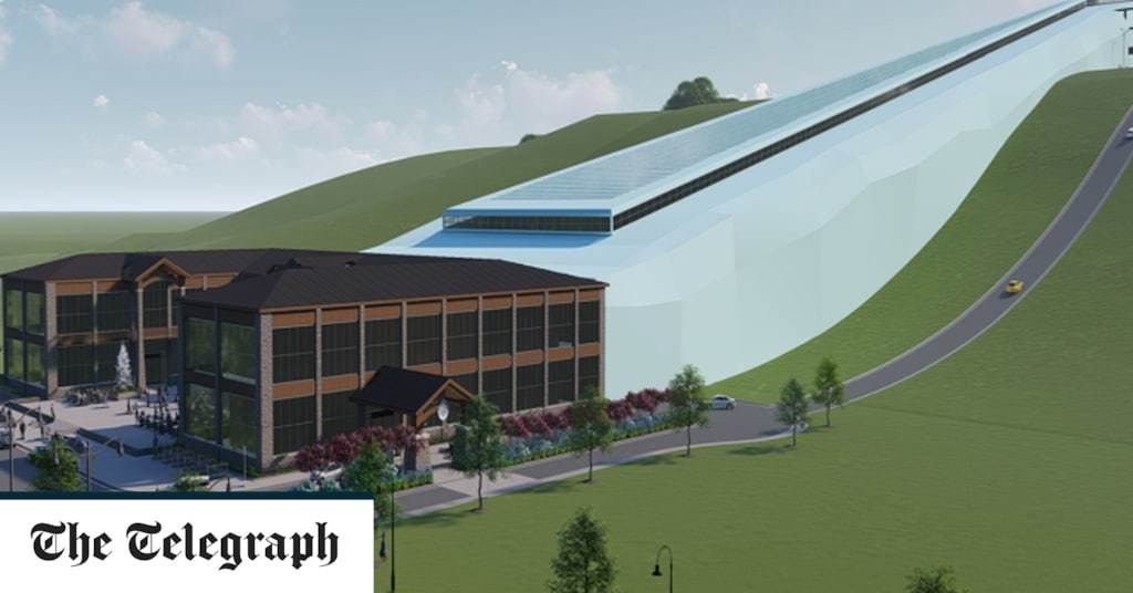 Plans revealed for America's largest indoor ski slope – on a landfill