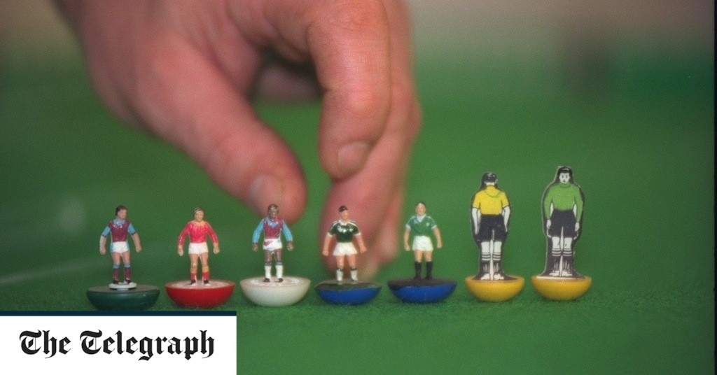 Subbuteo comes off the bench for a trip back to childhood world of flicking and bickering