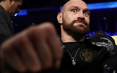 Tyson Fury accuses Deontay Wilder of ducking public appearances: 'He doesn't want to be in the same room as me because I'll take him to school'