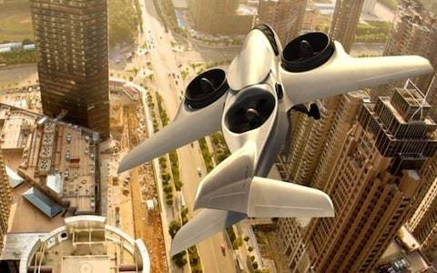 The 'world's first vertical take-off jet'