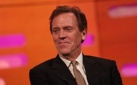Hugh Laurie: Celebrities who turn down honours are 'pompous'