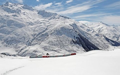 On-board the Glacier Express, the most scenic rail journey in the Alps