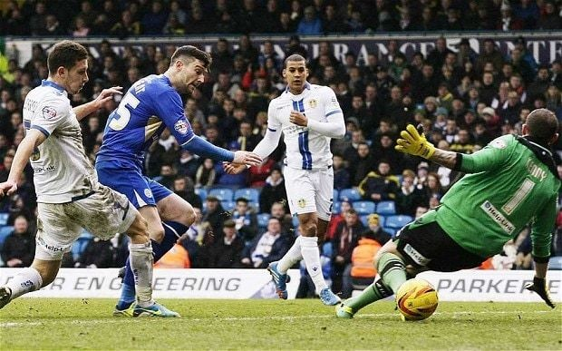 Leeds United 0 Leicester City 1: match report