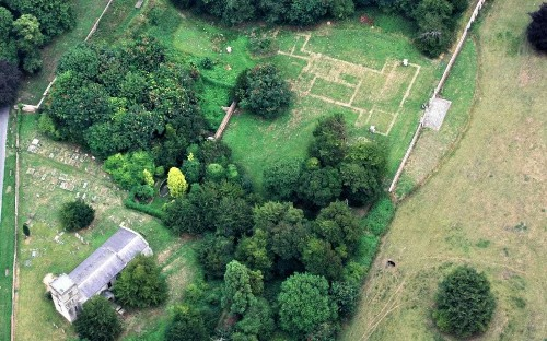 Ghostly outline of lost architectural masterpiece uncovered by aerial archaeologists