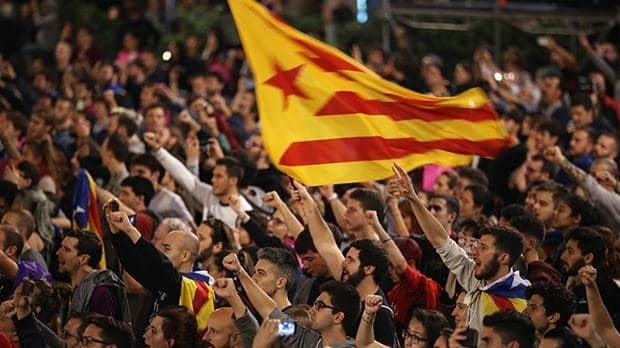 Catalonian referendum violence plunges EU into crisis as '90pc of voters back independence'