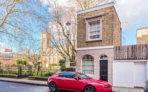 One of London's smallest houses sells for £100,000 more than its asking price - that's £2,461 per sq ft