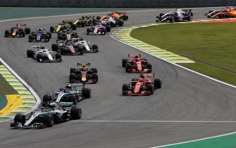 Brazilian Grand Prix 2019: What time does the F1 race start today, what TV channel is it on and what are the odds?