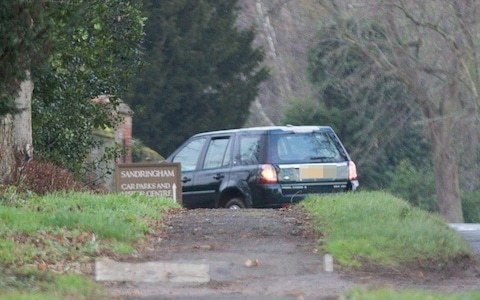 Prince Philip spotted driving without a seatbelt just days after crash - prompting police warning on road safety