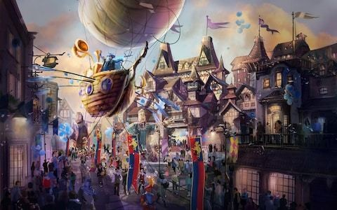 The 'British Disneyland': Can former Tory mayoral candidate get Kent's £4bn theme park back on track?
