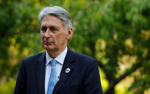 Philip Hammond says Government could cut taxes on working families in wake of Dominic Raab pledge to slash basic rate of income tax by 5p