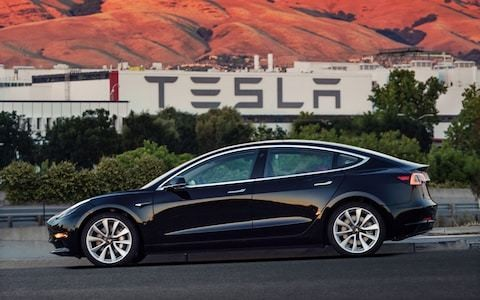 Tesla Model 3 overtakes Ford Focus to be UK's third best-selling car