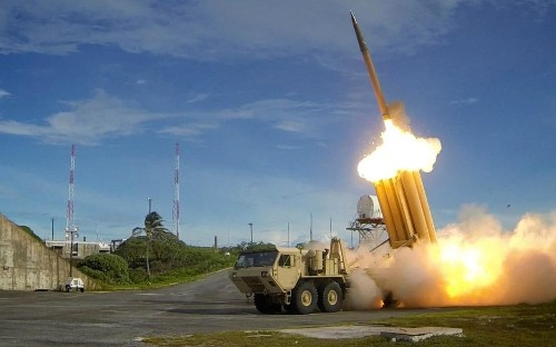 US Thaad missile system operational in South Korea, as Pyongyang says region on brink of nuclear war