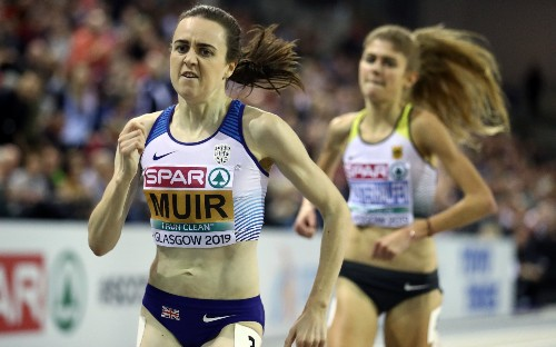 Laura Muir blitzes her way to scintillating European Indoor Championships 3000m gold