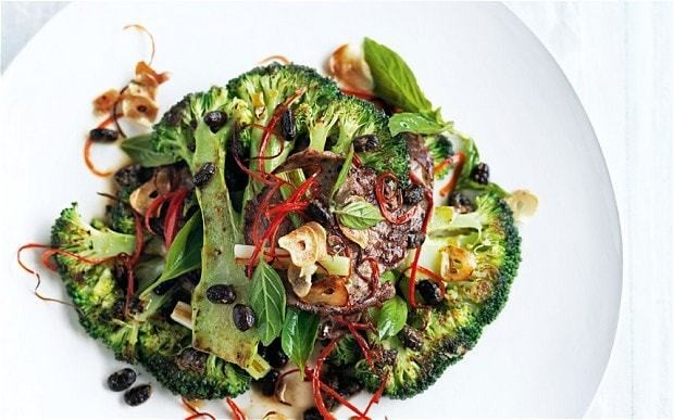 Beef, broccoli and black bean stir-fry recipe