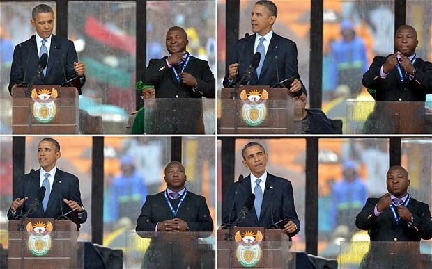 Translated: what the Mandela signer was really saying