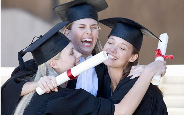 Women with degrees earn three times as much as female non-graduates