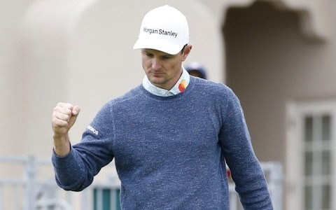 Justin Rose in sight of second major as he closes in on Gary Woodland to set up US Open final round