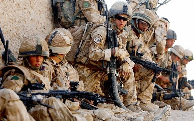 British troops less likely to get PTSD than Americans