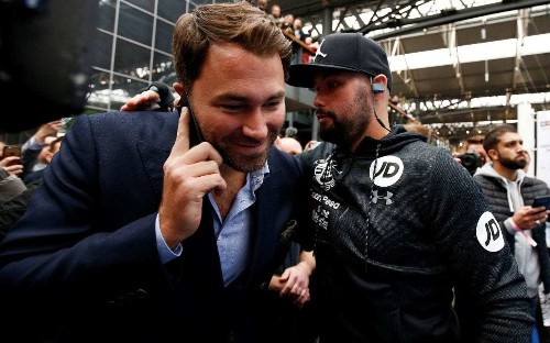 Eddie Hearn to assemble 'biggest stable of fighters ever seen' after striking $1 billion deal with online streaming giant