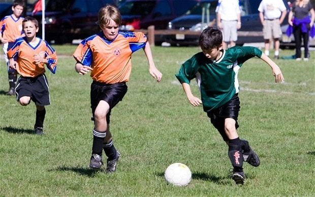 Hysterical parents 'set a bad example on the sports field'