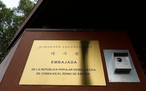 Was North Korea's vital 'transformation computer' taken in raid on Madrid embassy?