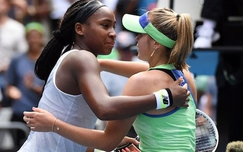 Coco Gauff as impressive in defeat as she is in victory after Australian Open run is ended by 21-year-old Sofia Kenin