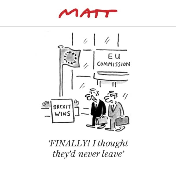 Matt on Brexit: His favourite EU-inspired cartoons