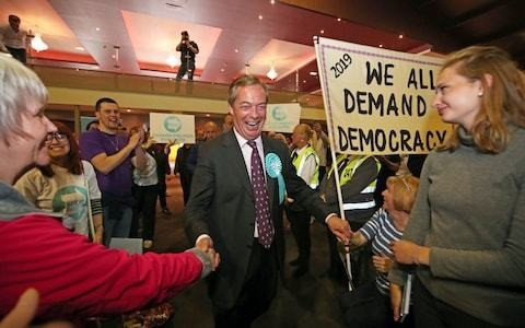 The fraudulent Labour movement will be the first shock victim of the Brexit Party
