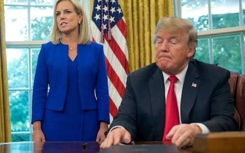 Kirstjen Nielsen quits as US Homeland Security Secretary
