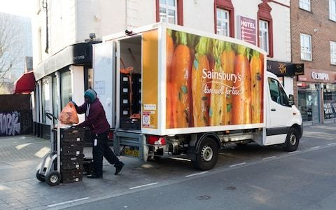 'My 94-year-old father can't get a Sainsbury's home delivery slot'