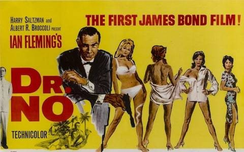 The man with the Midas touch: vintage James Bond poster smashes auction estimate