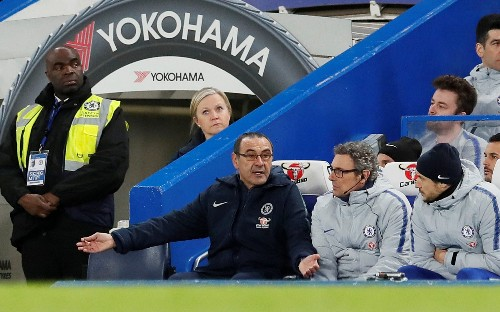 Maurizio Sarri will pay the price, but Chelsea's players are letting the club down