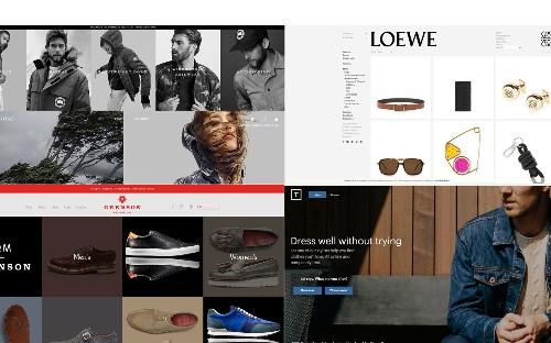 The 30 best men's fashion websites