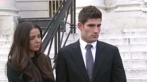 Victims' groups cry foul as footballer Ched Evans is cleared of raping a teenager after complainant's sexual history is put before court