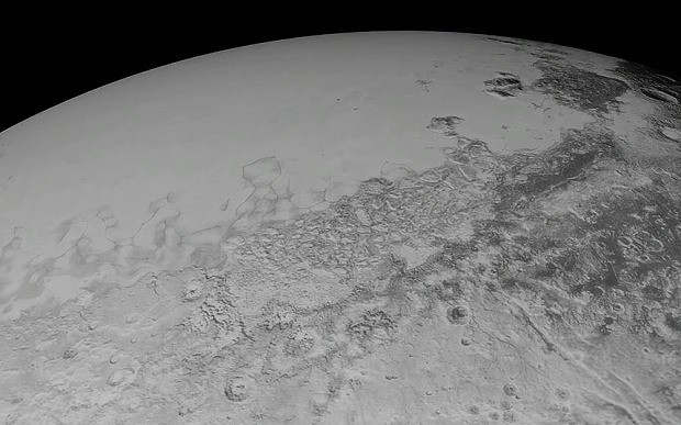 New images of Pluto released for virtual flyover animation