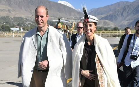 Duke and Duchess of Cambridge to visit melting glacier to highlight impacts of climate change on third day of Royal tour to Pakistan