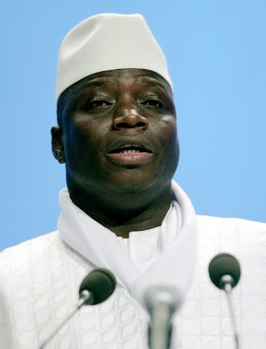 Gambia's president declares country to be an Islamic republic