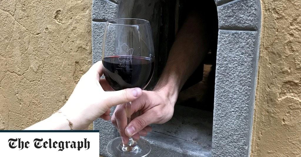 Florence's 400-year-old 'wine windows' undergo renaissance thanks to coronavirus crisis