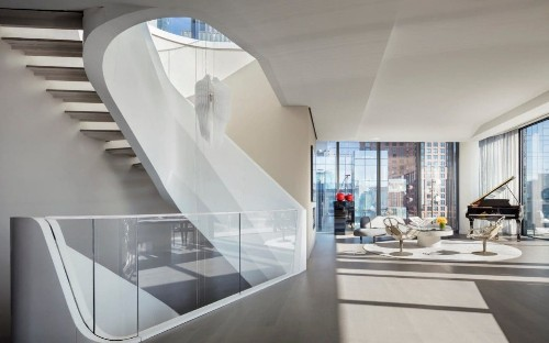 The statement staircase: the newest design trend in the world's most luxurious homes