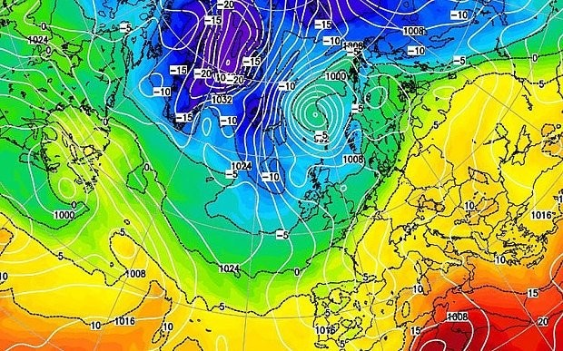 UK weather: 'Polar plume' set to blow in from the Arctic