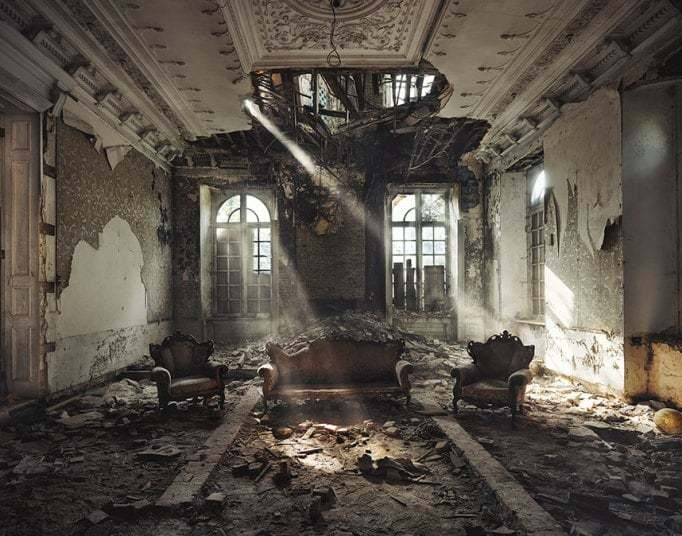 Orphans of time: Photographer captures the beauty of abandoned buildings - Telegraph