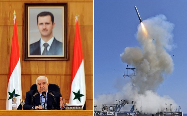 Fears of Western strike on Syria spread in Middle East